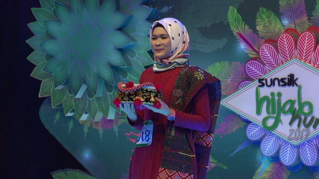 23 Besar Sunsilk Hijab Hunt 2017 Medan - Fadilah Rahma Lubis