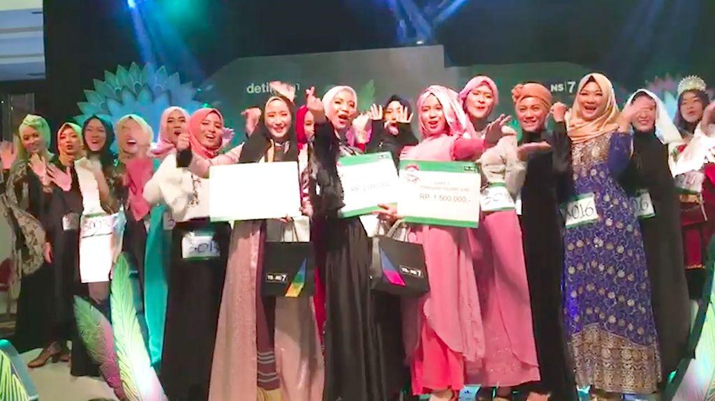 Ini Dia! 3 Juara Favorit Pilihan Juri Sunsilk Hijab Hunt 2017 di Palembang