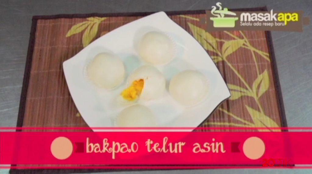 Tips dan Trik: Bakpao Telur Asin