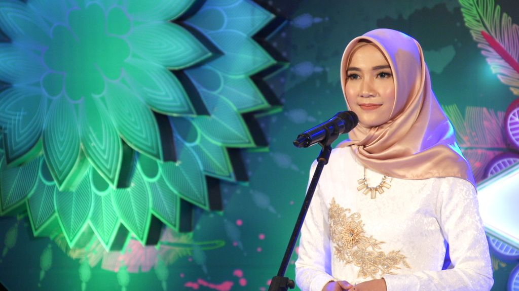 30 Besar Sunsilk Hijab Hunt 2017 Bandung - Noorshafia Faridhatala