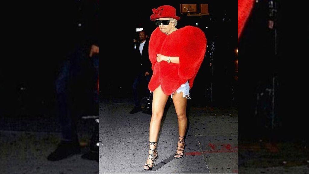 Edit Foto Ratu Elizabeth, Rihanna Dihujat Netizen