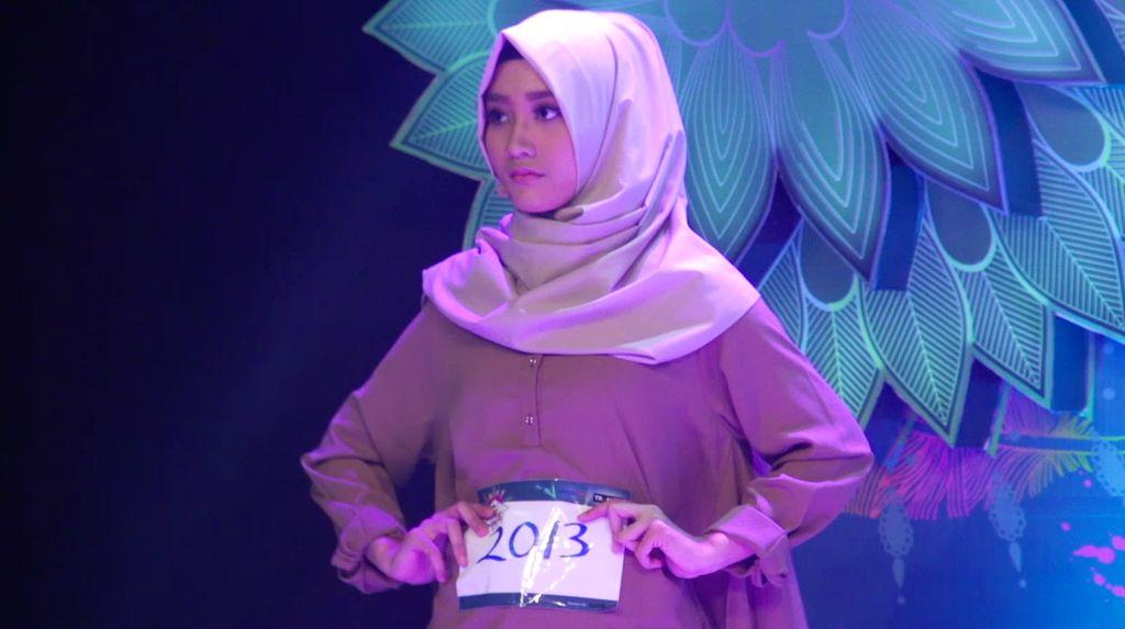 24 Besar Sunsilk Hijab Hunt 2017 Surabaya - Nindy Ilhami