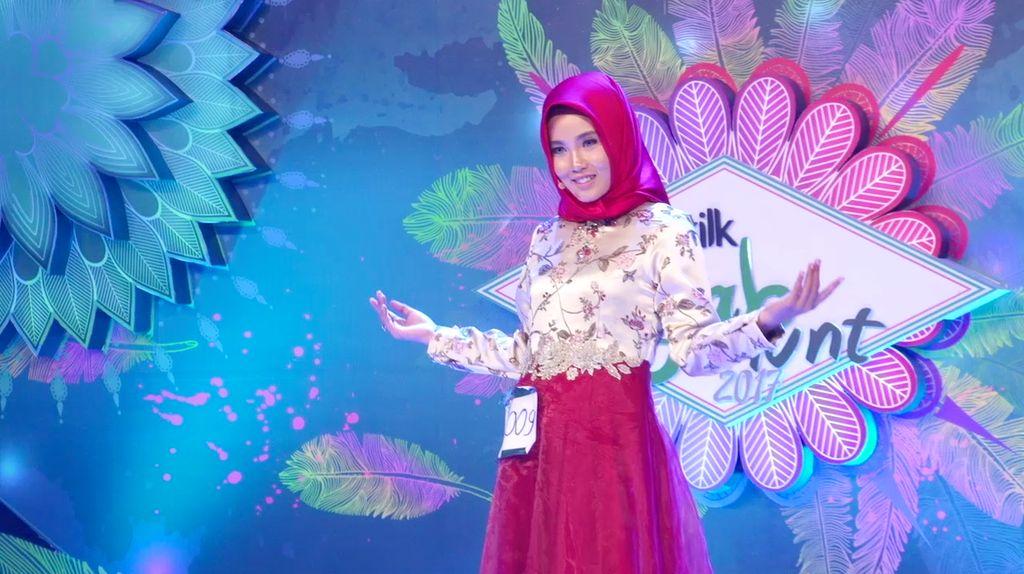 24 Besar Sunsilk Hijab Hunt 2017 Surabaya - Nur Wafiyyah Bahasuan