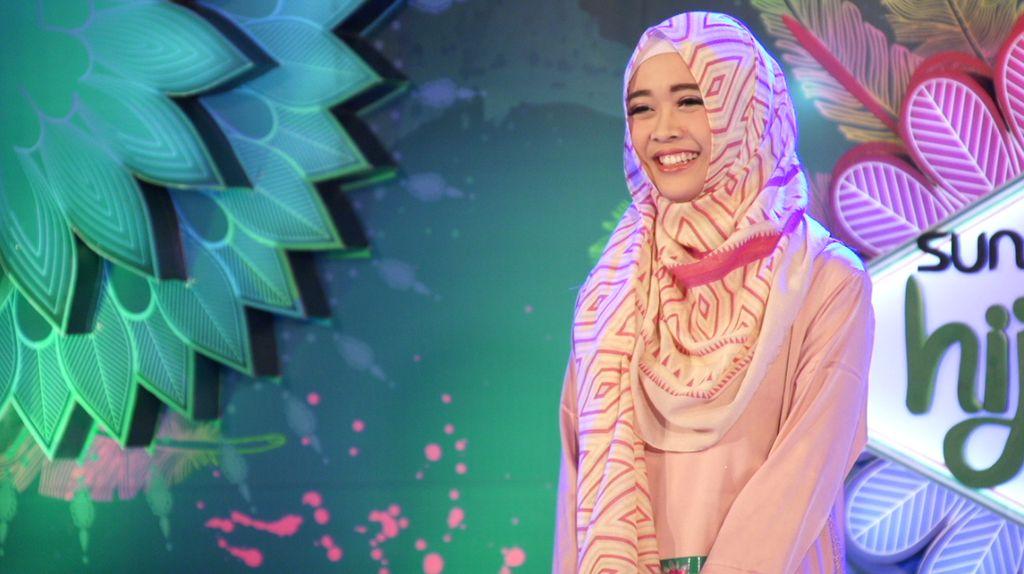 30 Besar Sunsilk Hijab Hunt 2017 Bandung - Fitrianti Hendriani