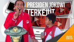 Momen Jokowi Terkejut Ada Anak di Pekanbaru Bercita-cita jadi YouTuber