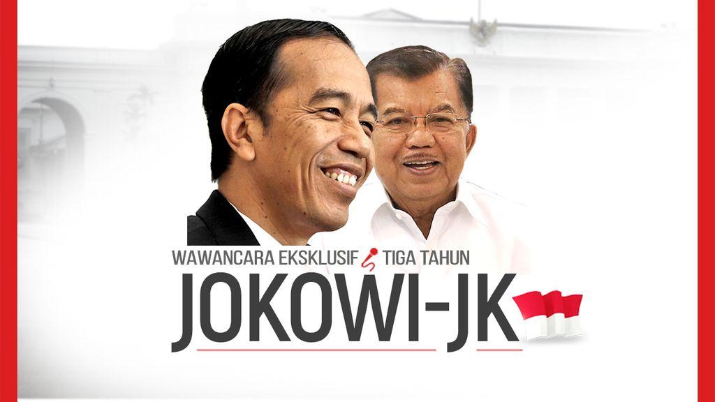 Eksklusif! Wawancara 3 Tahun Pemerintahan Jokowi-JK