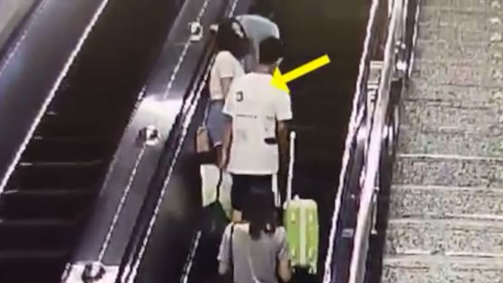 Viral! Video Wanita Tampar Pelaku Pelecehan Seksual di Stasiun