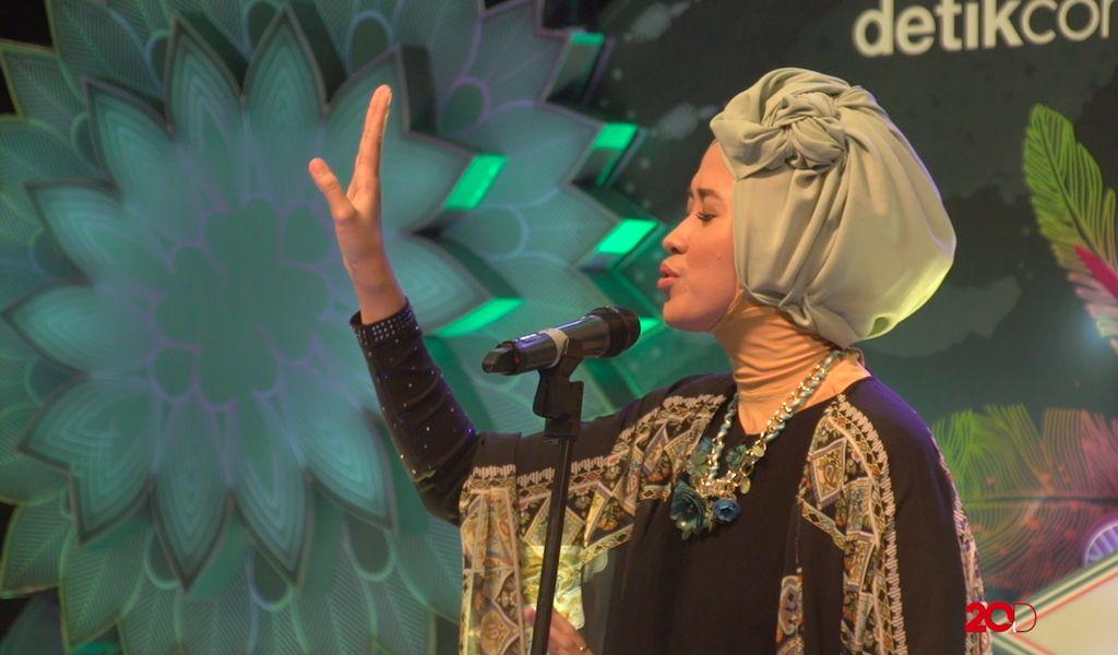 18 Besar Sunsilk Hijab Hunt 2017 Palembang - Fidia Lestari
