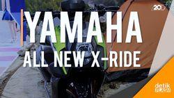 Yamaha New X-Ride Tampil Lebih Gahar