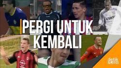7 Pemain Bola Hebat yang Kembali ke Klub Asal