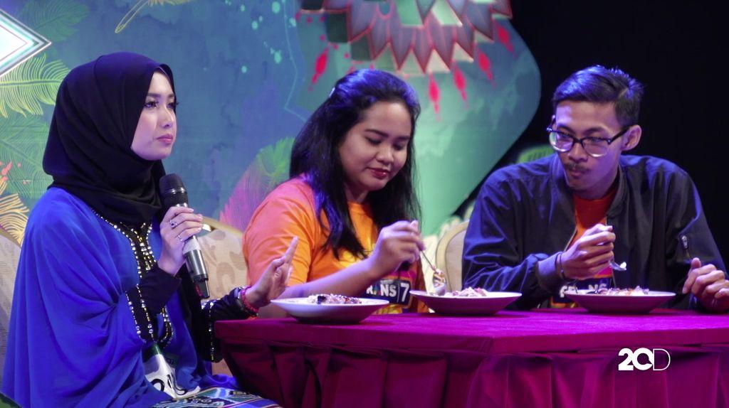 24 Besar Sunsilk Hijab Hunt 2017 Jakarta - Amanda Cornelia