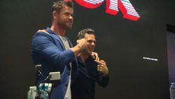 Thor dan Hulk Bikin Histeris