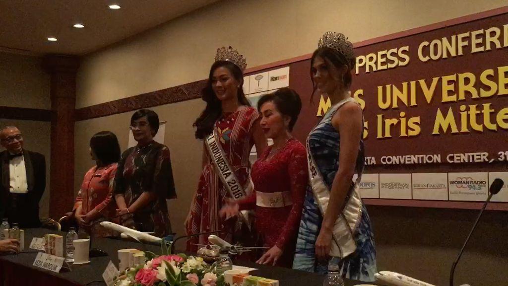 Miss Universe 2016 Puji Wanita Indonesia Cantik dan Berbakat