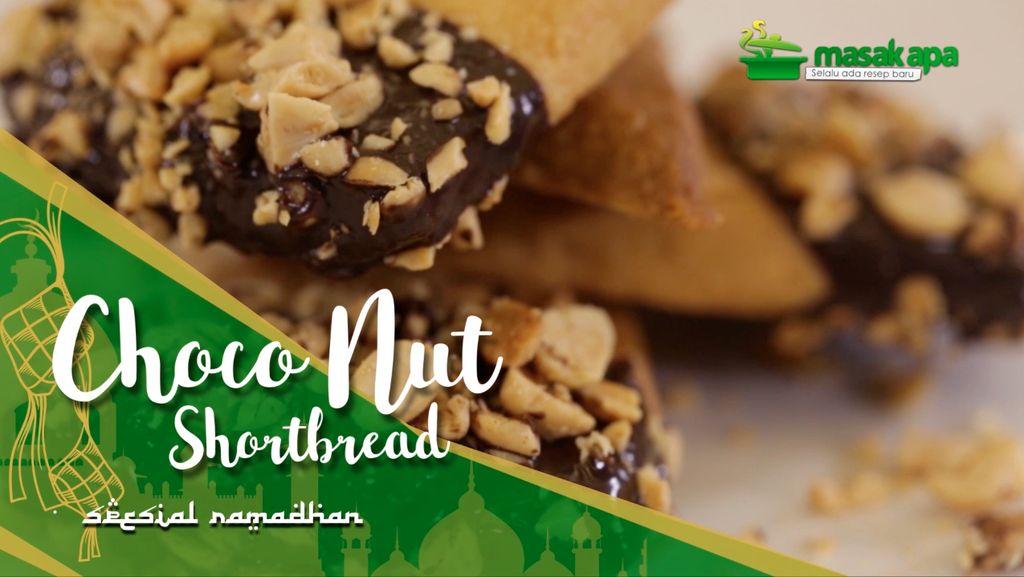Choco Nut Shortbread