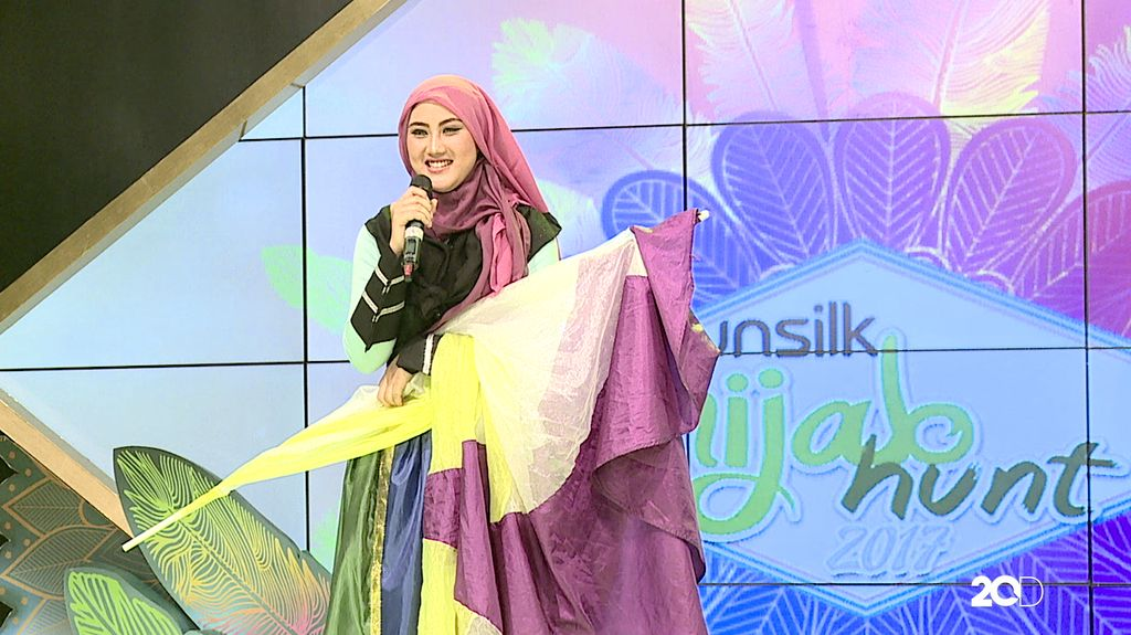 50 Besar Sunsilk Hijab Hunt 2017 - Degina Agiya