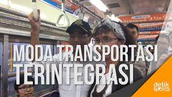 Menhub Tinjau Konsep Antar Moda Transportasi di Stasiun Tebet