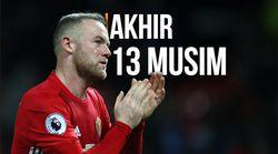 Wayne Rooney Akhiri Perjalanan Bersama Man United