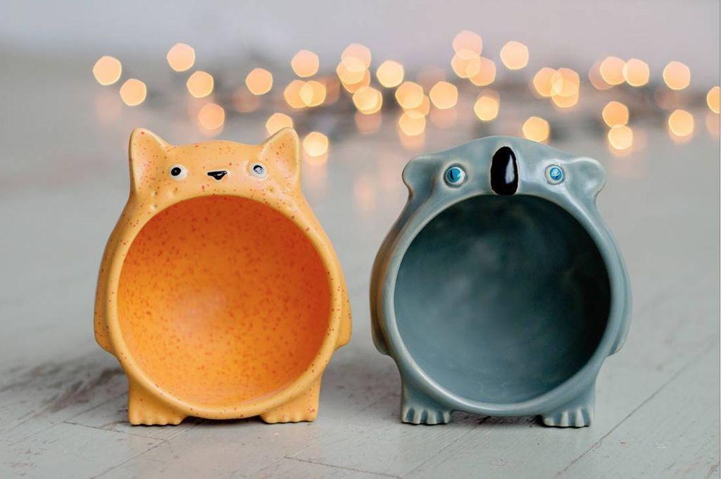 Lucunya Keramik-keramik Berbentuk Binatang Ini