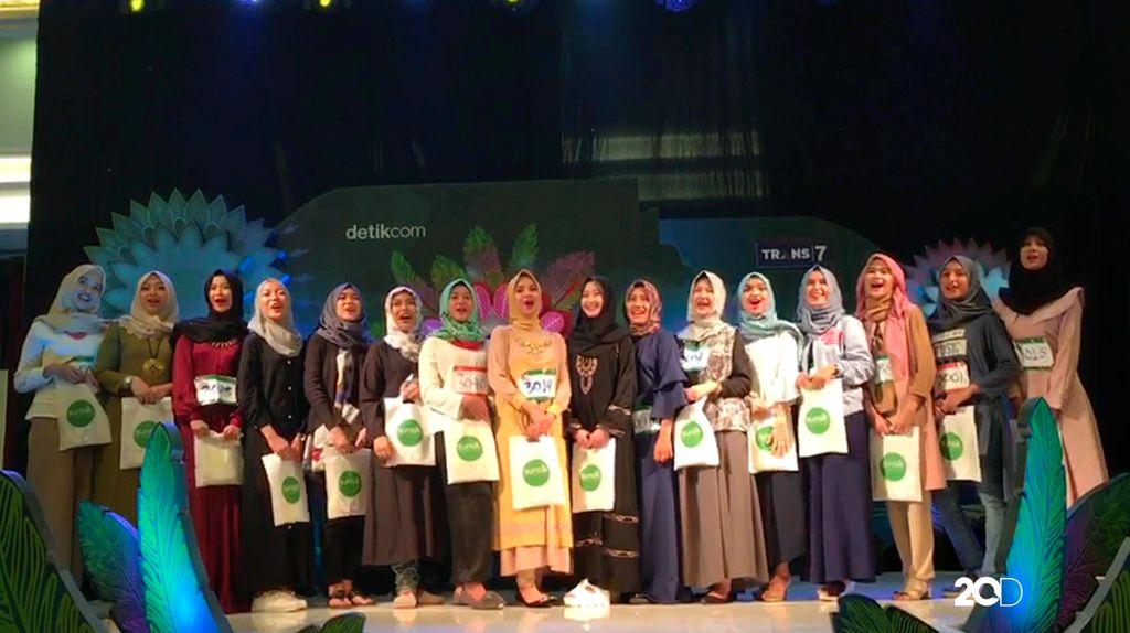 Inilah 18 Besar Peserta yang Lolos di Sunsilk Hijab Hunt 2017 Palembang