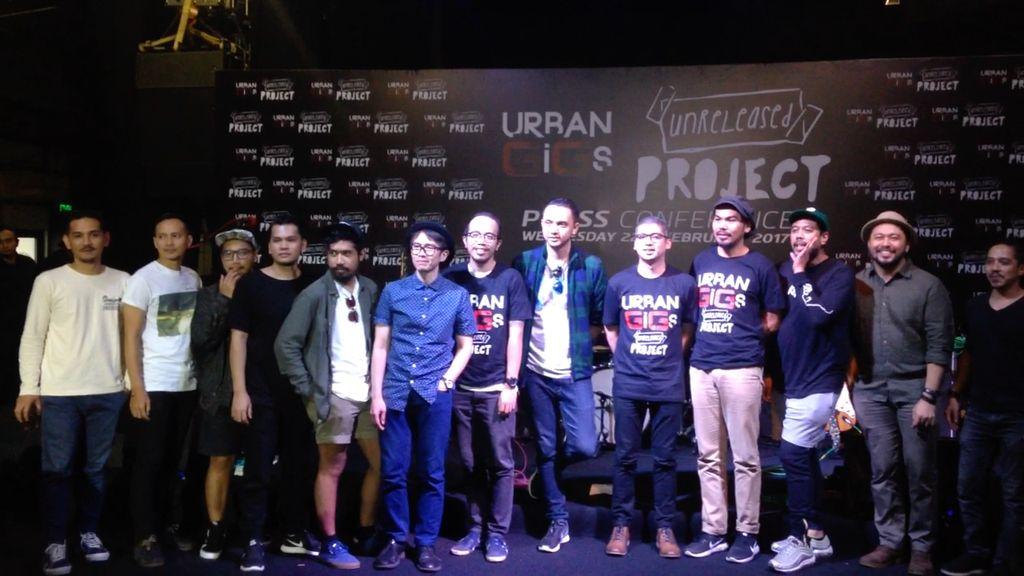 Urban GiGs 2017 Gaet 12 Band untuk Kolaborasi