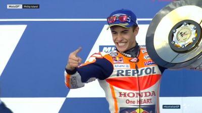 Marquez Top! Highlights GP Australia