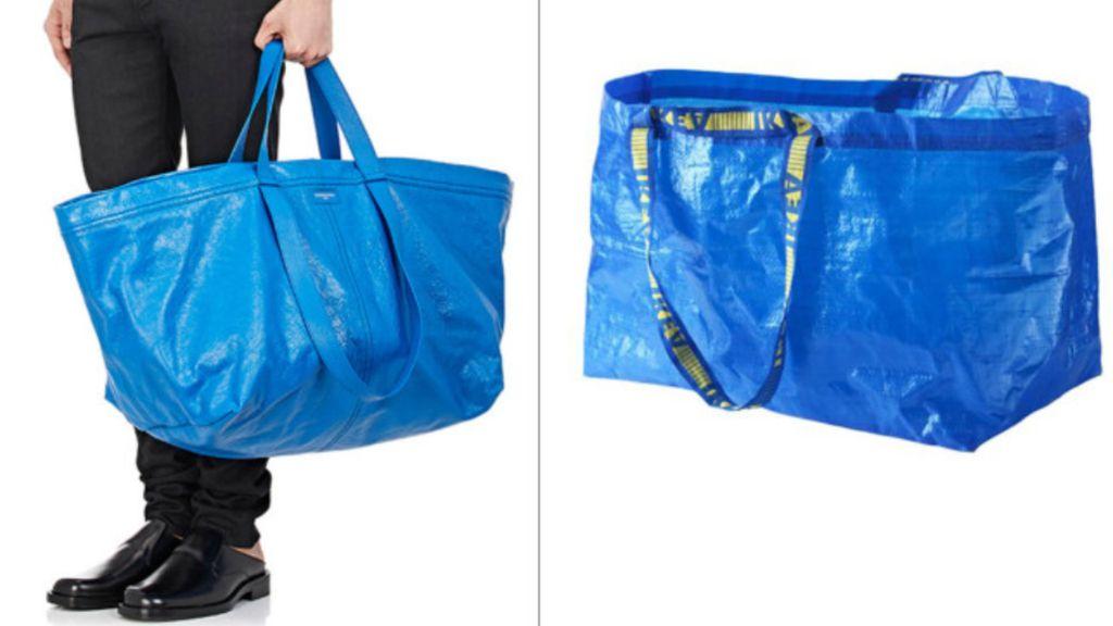 Netizen Samakan Tas Balenciaga Rp 28 Juta dengan Kantong Belanja Ikea
