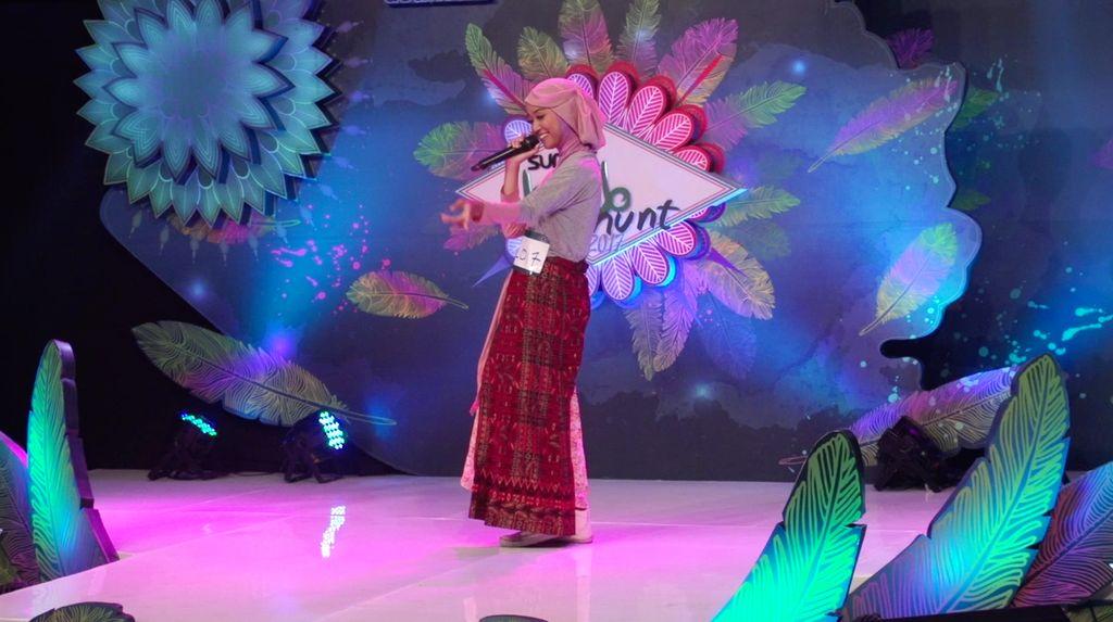 24 Besar Sunsilk Hijab Hunt 2017 Surabaya - Vina Laily Noor Mahdiya