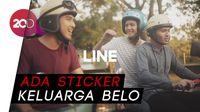 Line Ramaikan Ramadan dengan Sticker hingga Web Series