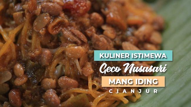 Kuliner Istimewa Geco Nusasari Mang Iding Cianjur
