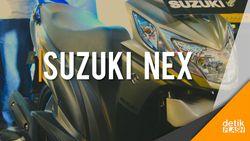 Skutik Suzuki Nex Reborn