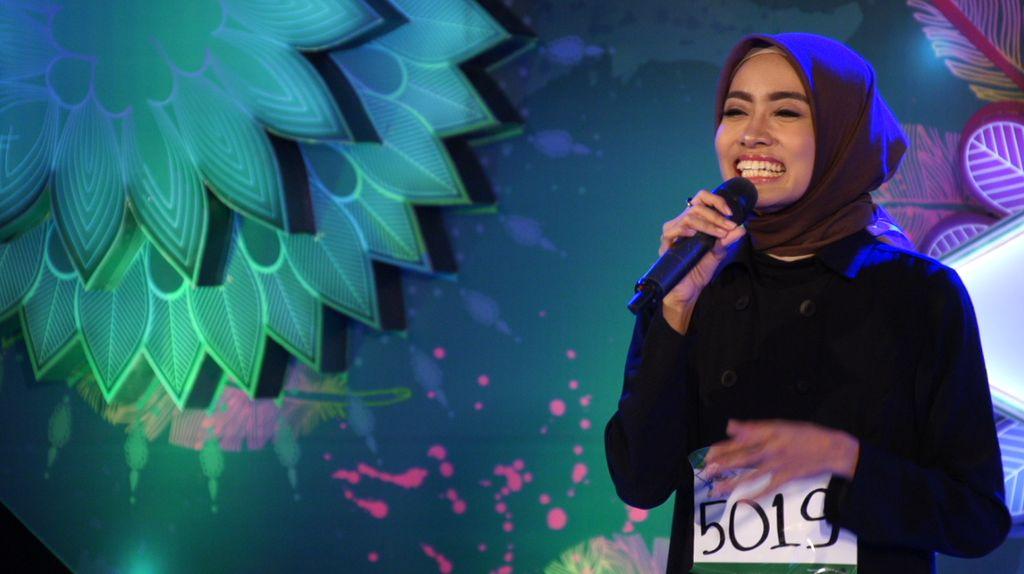 30 Besar Sunsilk Hijab Hunt 2017 Bandung - Indah Sundari Jayanti