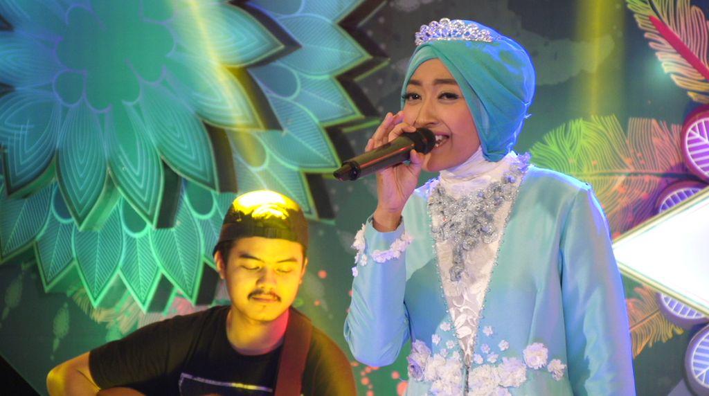 30 Besar Sunsilk Hijab Hunt 2017 Bandung - Rizka Nurmala