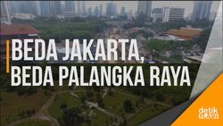 Ini Beda Jakarta dan Palangka Raya