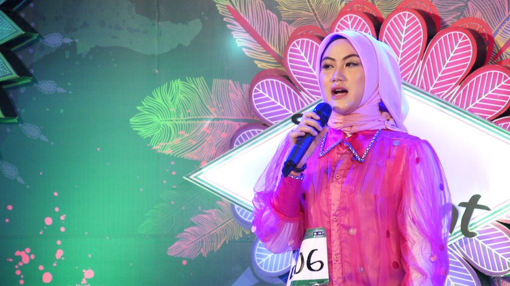 30 Besar Sunsilk Hijab Hunt 2017 Bandung - Degina Agiya