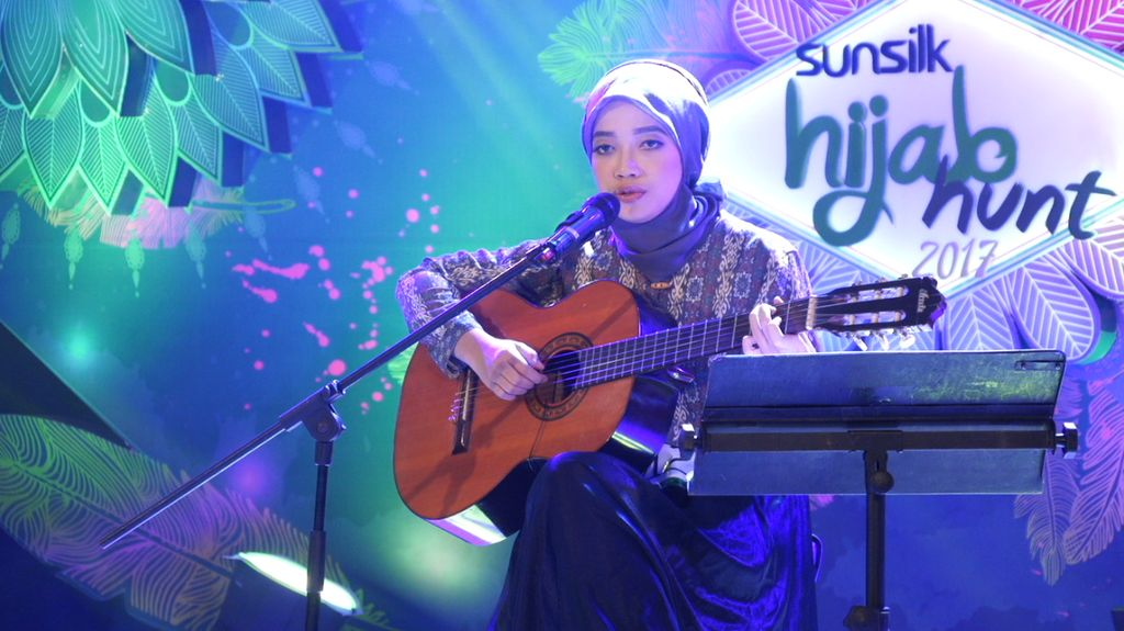 30 Besar Sunsilk Hijab Hunt 2017 Bandung - Windy Ahdini