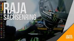Marquez Berjaya di Sirkuit Sachsenring