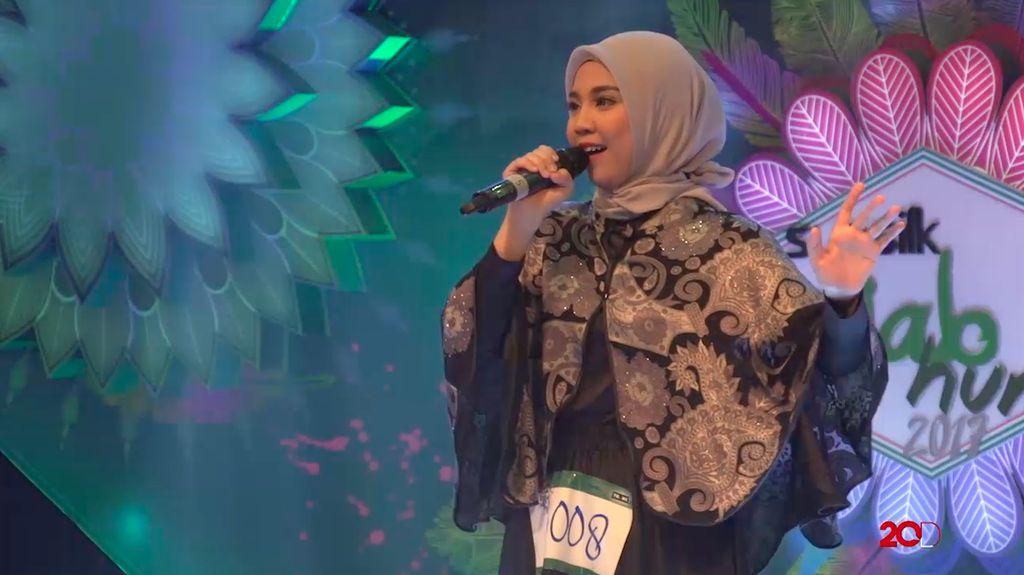 18 Besar Sunsilk Hijab Hunt 2017 Palembang - Nurmalina Oktaviani