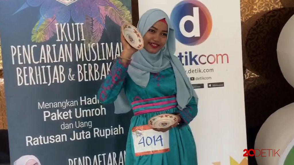 Ada Tari Piring di Sunsilk Hijab Hunt 2017 Medan