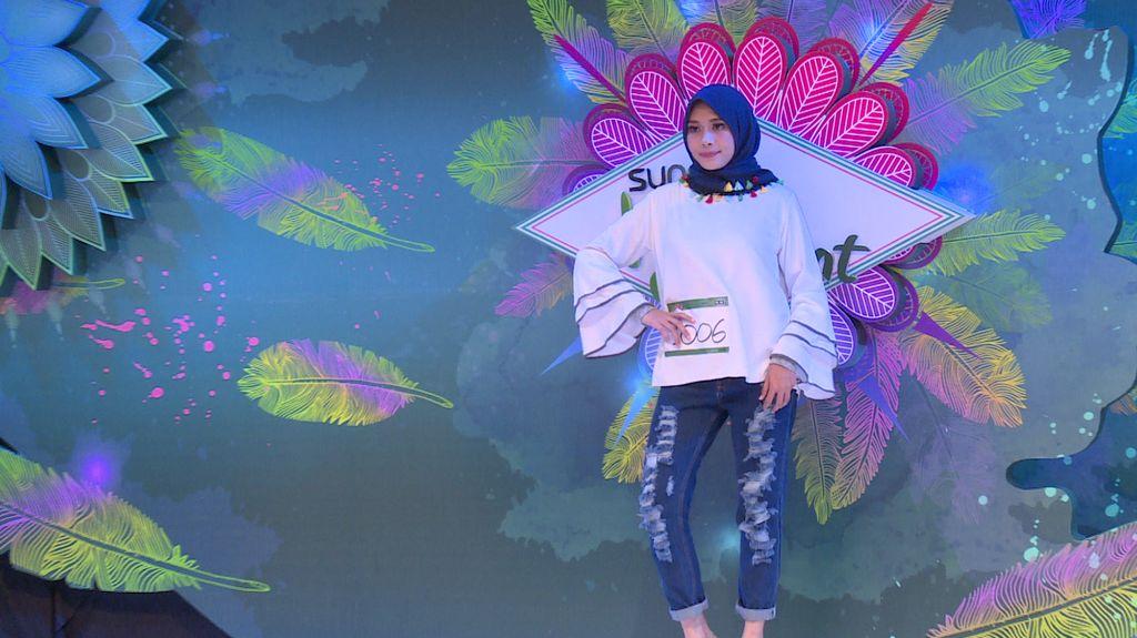20 Besar Sunsilk Hijab Hunt 2017 Yogyakarta - Ryma Octavia