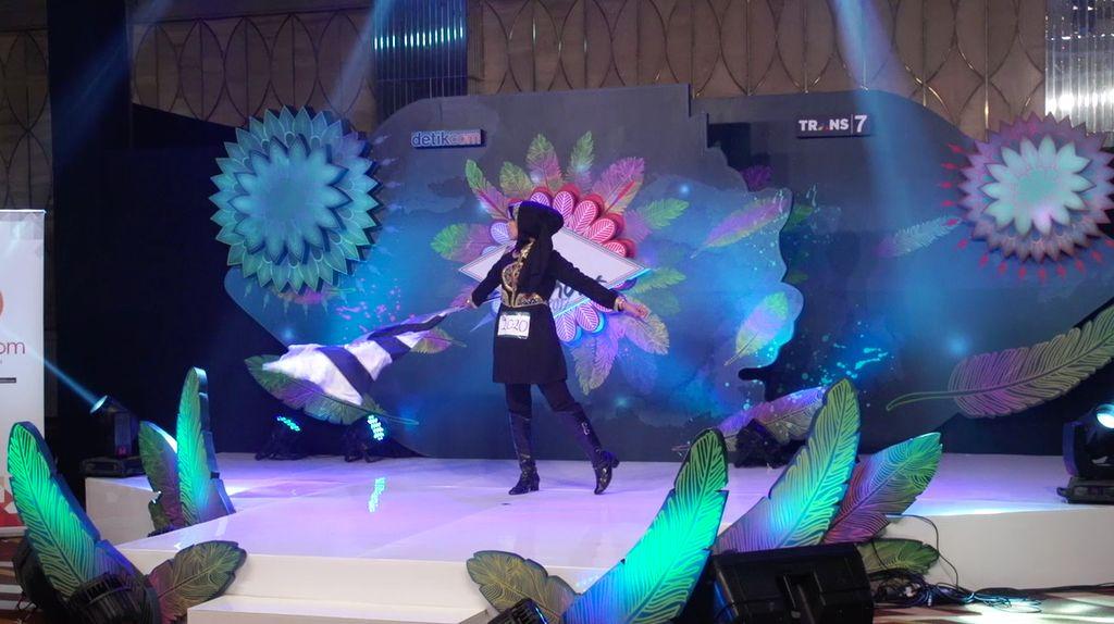 24 Besar Sunsilk Hijab Hunt 2017 Surabaya - Fatimah Alkaff