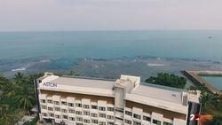 Menikmati Sunset di Hotel Pesisir Pantai Anyer