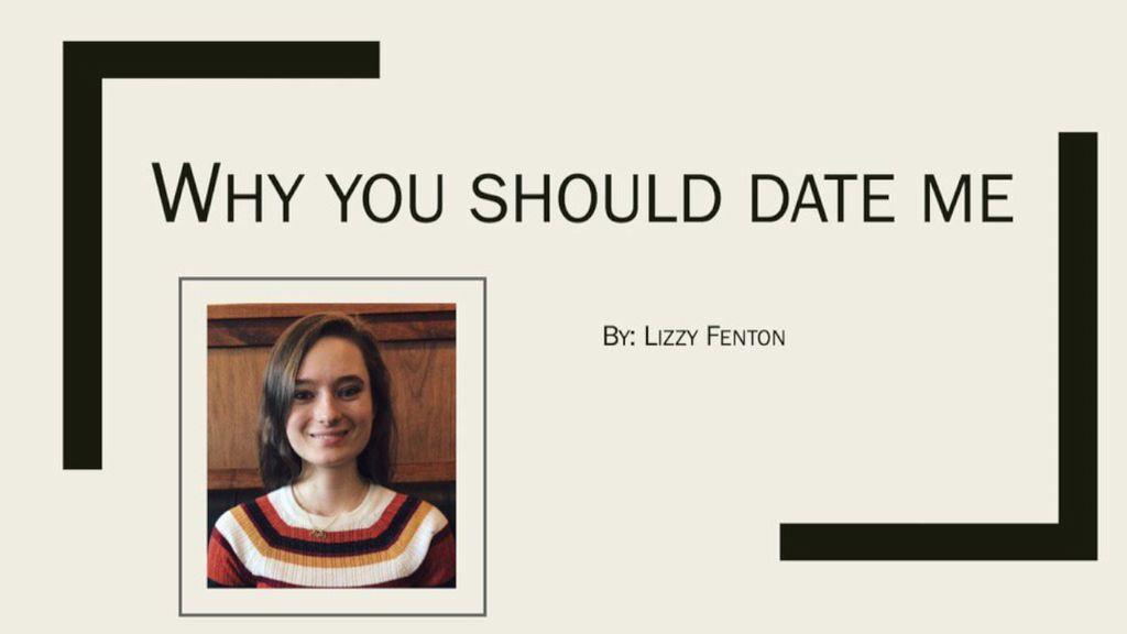 Mahasiswi Ini Bikin Presentasi Power Point untuk Ajak Pria Berkencan