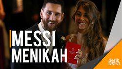 Pesta Bertabur Bintang Sepakbola di Pernikahan Messi