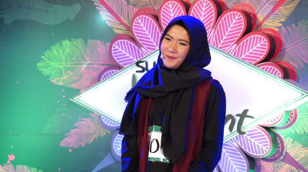 30 Besar Sunsilk Hijab Hunt 2017 Bandung - Mia Puspa Gandana