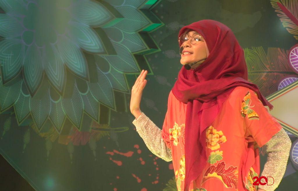 18 Besar Sunsilk Hijab Hunt 2017 Palembang - Sisilia Sahara Tris