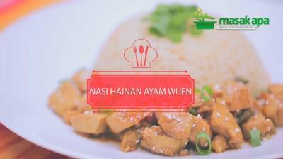 Nasi Hainan Ayam Wijen