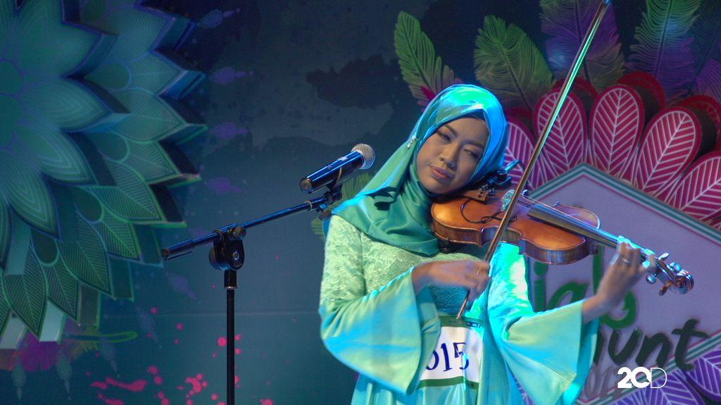 23 Besar Sunsilk Hijab Hunt 2017 Medan - Rizkha Rachmaini