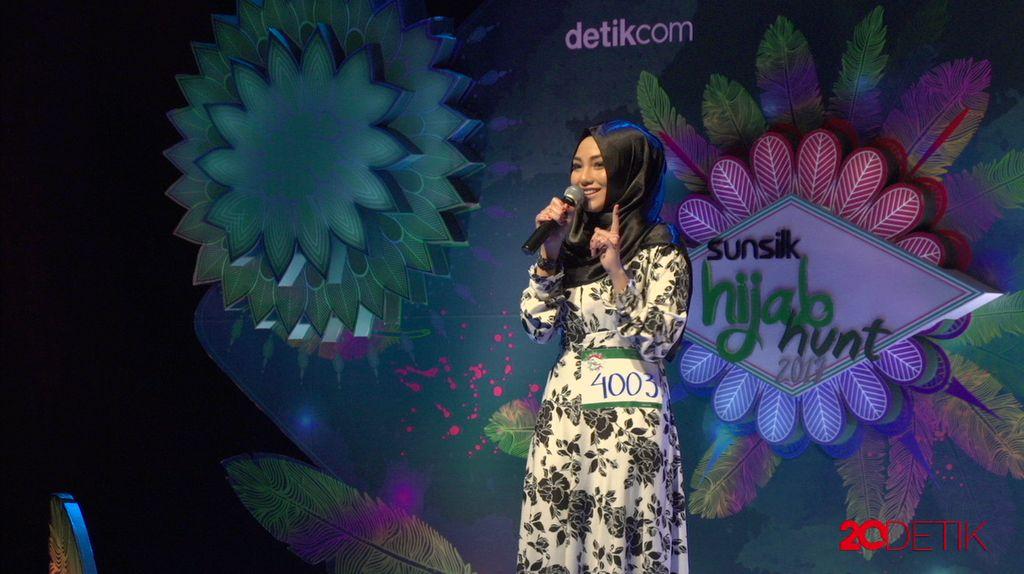 23 Besar Sunsilk Hijab Hunt 2017 Medan - Afra Afifah Fanny