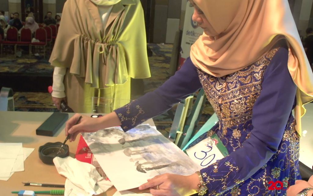 18 Besar Sunsilk Hijab Hunt 2017 Palembang - Putri Dewi Shinta