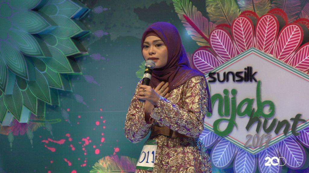 23 Besar Sunsilk Hijab Hunt 2017 Medan - Elsa Ulina Tarigan